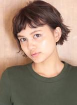 30代40代50代大人のミニボブ☆(髪型ショートヘア)