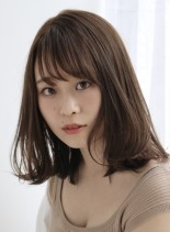 大人可愛いくびれミディ(髪型ミディアム)