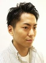 大人の刈り上げ爽やかメンズショート(髪型メンズ)