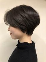 おとなハンサムショート(髪型ショートヘア)