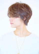 エアリーハンサムショート(髪型ショートヘア)