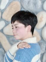 セシルショート(髪型ベリーショート)