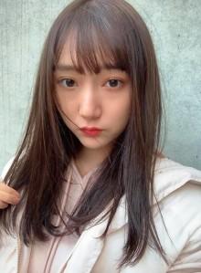 イルミナカラー&小顔ストレートロング☆