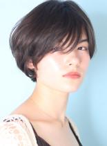 美シルエット◇大人のひし形ショート(髪型ショートヘア)