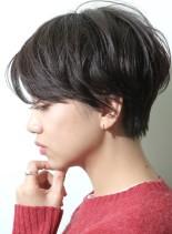 お手入れ楽々*お洒落ショートカット(髪型ショートヘア)