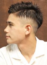 ビジネスバーバーショート(髪型メンズ)