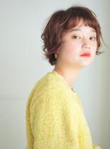 スウィングカールショート(髪型ショートヘア)