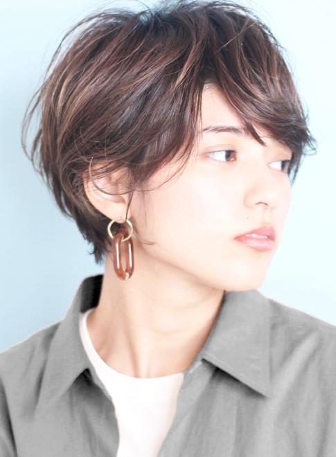 30代40代小顔丸みショート☆(ビューティーナビ)