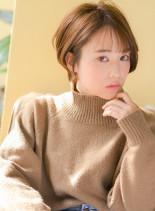 外国人風ショート(髪型ショートヘア)