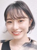 ボリューム☆美シルエット丸みショートヘア(髪型ショートヘア)