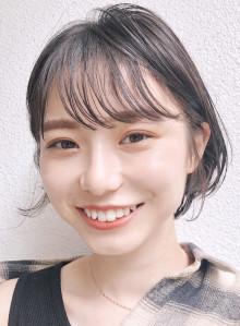 ボリューム☆美シルエット丸みショートヘア(ビューティーナビ)