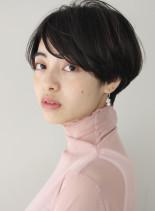 ふんわり可愛いマッシュショート(髪型ショートヘア)