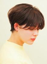 大人可愛いハンサムショート(髪型ショートヘア)
