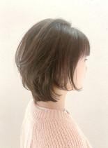 ★小顔効果人気の大人ショートボブ★(髪型ショートヘア)