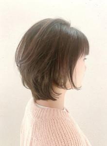 ★小顔効果人気の大人ショートボブ★(ビューティーナビ)
