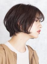 カジュアル*大人ショートボブ(髪型ショートヘア)