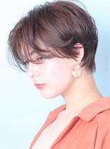 大人のニュアンスパーマ◇ハンサムショート(髪型ショートヘア)