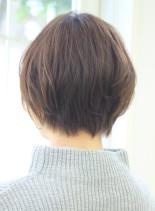 大人女性におすすめショートボブ(髪型ショートヘア)