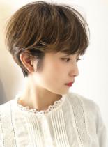 ☆30代40代☆骨格キレイショートヘア☆(髪型ショートヘア)