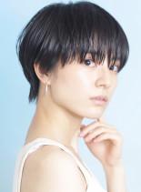 大人の丸みヘルシーショート☆(髪型ベリーショート)