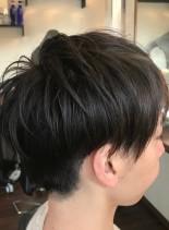 毛先軽やかマッシュレイヤー(髪型メンズ)