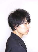 爽やか大人ナチュラル(髪型メンズ)