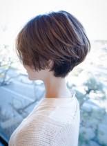 前下がり美シルエットショートヘア(髪型ショートヘア)