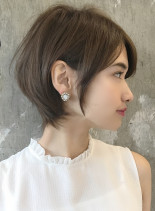 ☆小顔大人ショート☆広末涼子さん風(髪型ショートヘア)