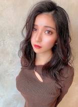 20代30代 色っぽミディアム(髪型セミロング)