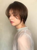 30代40代【大人の抜け感ショート】(髪型ショートヘア)