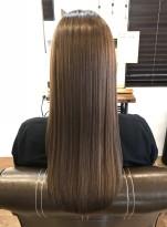 髪質改善ストレート
