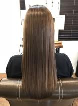 髪質改善ストレート(髪型ロング)
