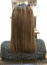 プレミアム髪質改善トリートメント(髪型セミロング)
