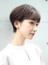 働く大人女子の為のすっきりグラショート☆(髪型ショートヘア)