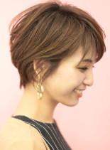 手入れ簡単☆大人可愛いショートボブ(髪型ショートヘア)