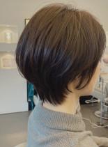 全方位美シルエットショート(髪型ショートヘア)