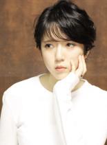 【簡単】クセ毛風ナチュラルショートヘア☆(髪型ショートヘア)