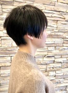 40代50代黒髪ショートボブ(ビューティーナビ)