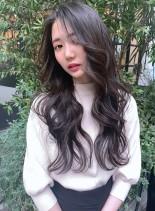 20代30代  色っぽ可愛いこなれヘア(髪型ロング)
