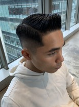 ビジネスマン◎出来る男のフェードスタイル(髪型メンズ)
