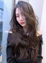 20代30代レイヤーで魅せる色っぽロング(髪型ロング)