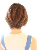 20代30代40代 大人可愛いショート(髪型ショートヘア)