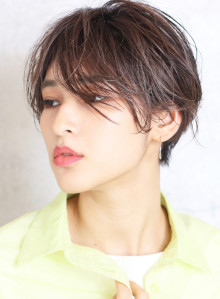 前髪長め☆大人クールショート(ビューティーナビ)