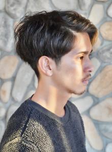 浅め刈り上げ ☆ メンズショート(ビューティーナビ)