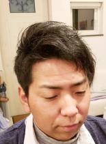 大人のボディーパーマ(髪型メンズ)