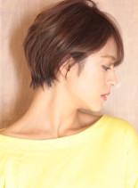 40代50代☆大人のこなれショートヘア☆(髪型ショートヘア)