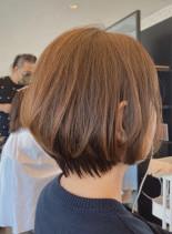 手入れ簡単な大人可愛いショートヘア(髪型ショートヘア)