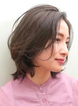 【ON/OFF◎】働く女性のボブレイヤー(髪型ボブ)