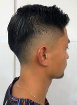 ワイルドショート刈り上げスタイル(髪型メンズ)