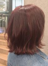 大人女性に人気のミディアムボブヘア(髪型ボブ)